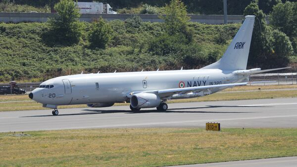 Indian Navy Boeing P-8I Neptune - Sputnik International