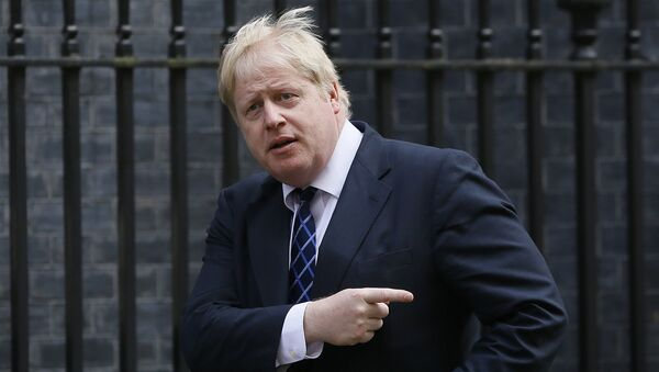 Boris Johnson, the Mayor of London arrives for a meeting at Downing Street in London, Tuesday, March 22, 2016 - Sputnik International