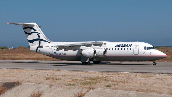 Aegean Airlines RJ1H SX-DVF - Sputnik International