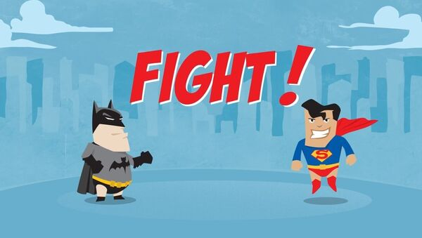 Batman v. Superman - Six Ways the Fight Might Actually Go #WhoWillWin - Sputnik International