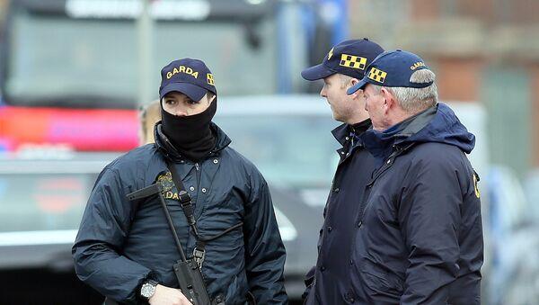 Armed Irish police - Sputnik International