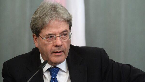 Russian Foreign Minister Lavrov meets Italian FM Gentilone - Sputnik International