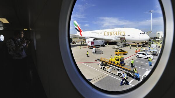 Emirates Airline's Airbus A380 - Sputnik International