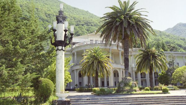 The Amra health resort, formerly the CPSU Central Committee resort named after the 17th party congress. It is located on the Black Sea c oast in the old (historic) part of the city of Gagra - Sputnik International