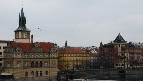 View of the Smetana Embankment from the Charles Bridge in Prague. (File) - Sputnik International