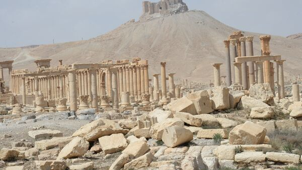 Historic site in Palmyra destroyed in military operations - Sputnik International