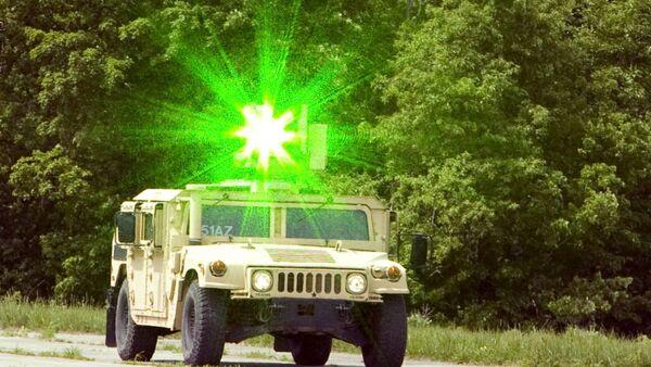 Laser system mounted to a military humvee. - Sputnik International