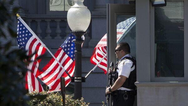 White House on Lockdown - Sputnik International