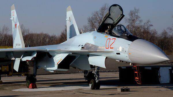 The Sukhoi Su-35S fighter jet - Sputnik International