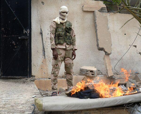 They Did It! Syrian Soldiers Savor the Liberation of Palmyra - Sputnik International