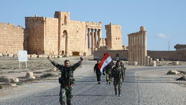 Ancient Palmyra after the city's liberation from terrorists - Sputnik International