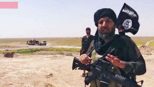 Bulldozing the border between Iraq and Syrian: The Islamic State - Sputnik International