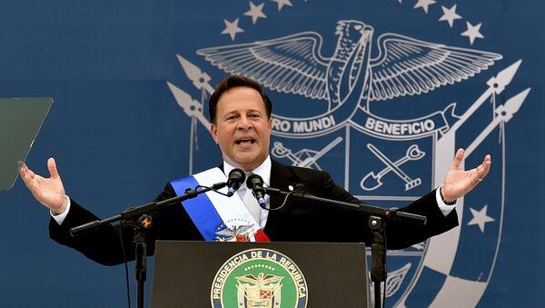 Panama's  President Juan Carlos Varela (File) - Sputnik International