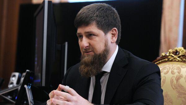 President Putin meets with Ramzan Kadyrov - Sputnik International