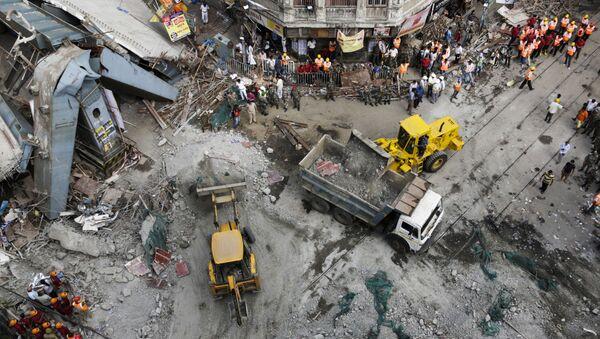 India Overpass Collapse - Sputnik International
