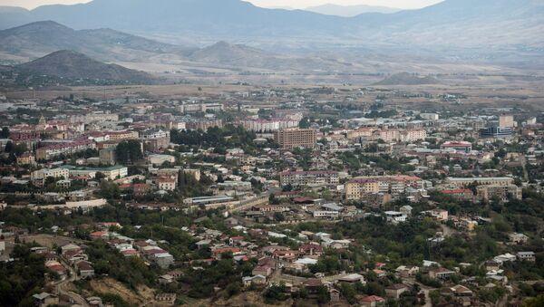 The town of Stepanakert in the self-proclaimed Nagorno-Karabakh Republic. - Sputnik International