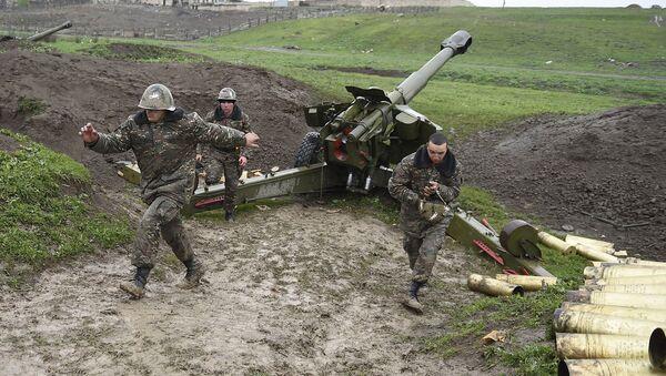 Nagorno-Karabakh conflict zone - Sputnik International