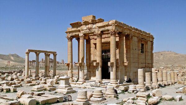 Temple of Baal-Shamin in Palmyra, Syria - Sputnik International
