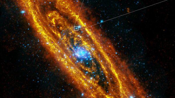 Andromeda's pulsing neutron star - Sputnik International
