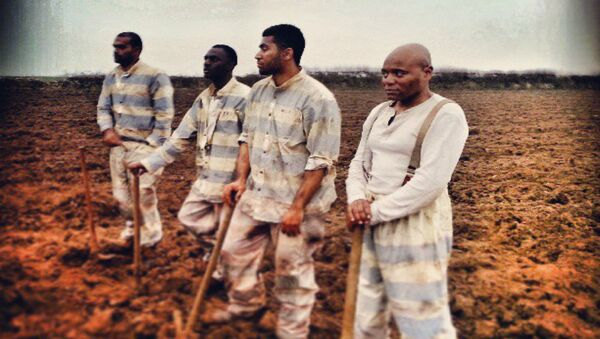 prison labor - Sputnik International