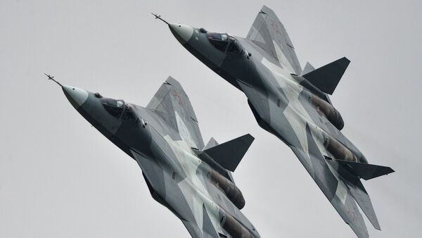 T-50 strike aircraft - Sputnik International