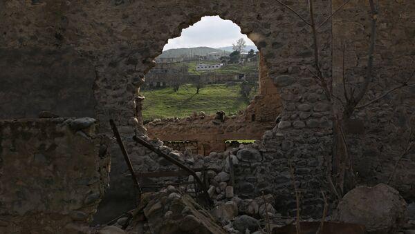 The village of Talish in the Nagorno-Karabakh conflict zone - Sputnik International