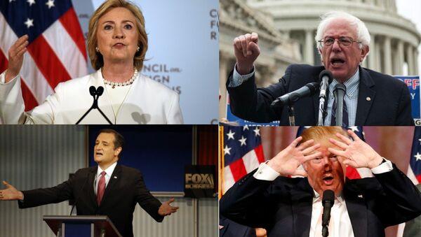 2016 US presidential candidates - Sputnik International