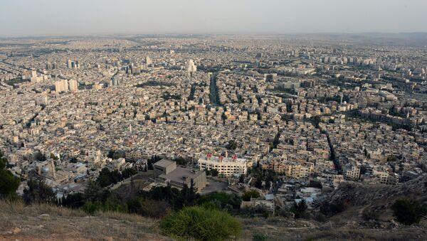 View of Damascus from Mount Qasioun - Sputnik International