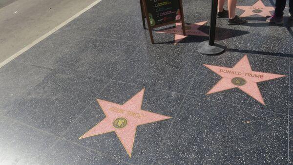 Donald Trump Star at Hollywood Walk of Fame - Sputnik International