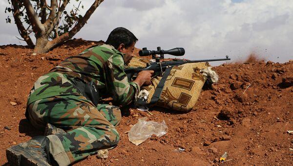 Free Syrian Army fighter (File) - Sputnik International