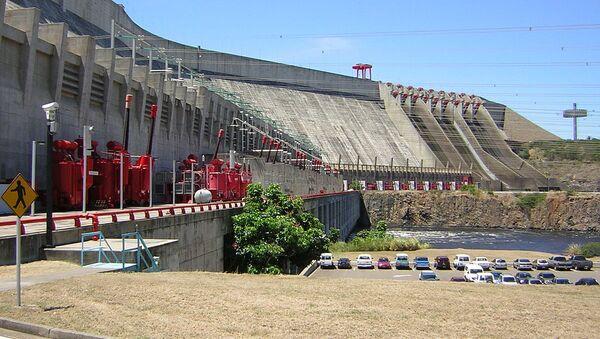 Panoramic view of the 10000MW Guri Dam in Venezuela, also called Simón Bolívar - Sputnik International