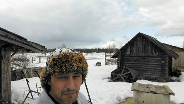 American Indian Justin Irwin - Sputnik International