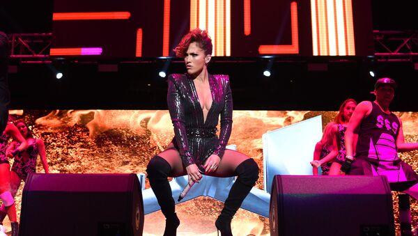 Musician Jennifer Lopez performs at Megaton Mundial de Polito Vega at Madison Square Garden in New York. - Sputnik International