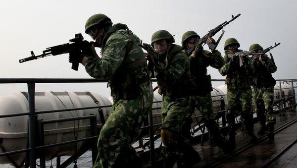 Russian Pacific Fleet marines - Sputnik International