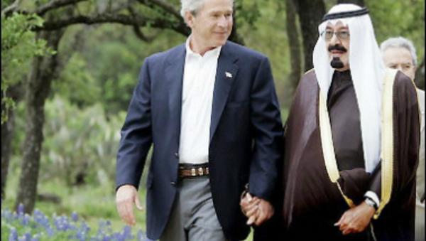 Bush and Saudi King - Sputnik International