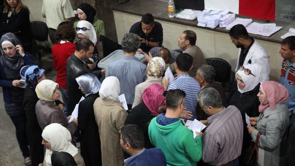 Parliamentary elections in Syria - Sputnik International