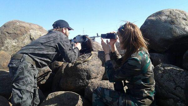 Military women journalists - Sputnik International