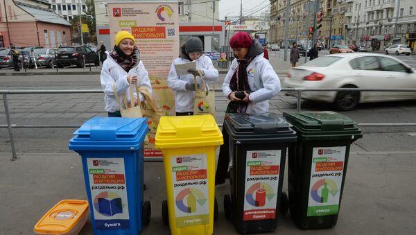 Mobile waste sorting and collection points - Sputnik International