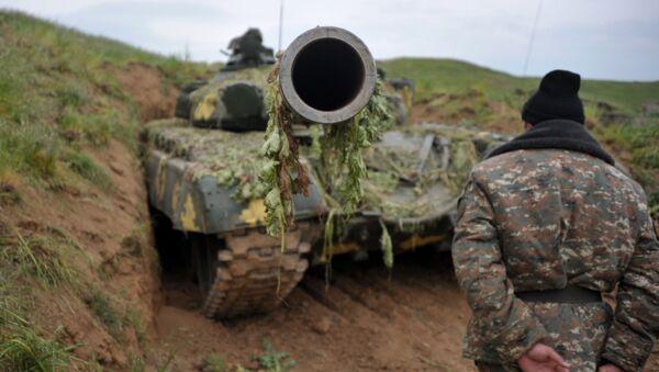 Karabakh conflict zone situation update - Sputnik International