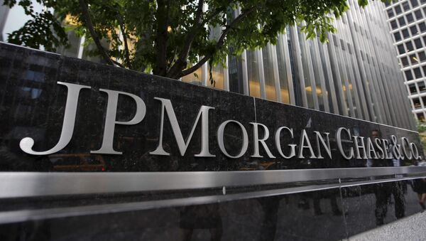 A view of the exterior of the JP Morgan Chase & Co (File) - Sputnik International