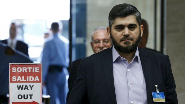 Mohammed Alloush, the head of Jaysh al-Islam - Sputnik International
