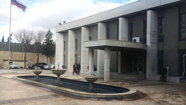 Russian Embassy in Syria - Sputnik International