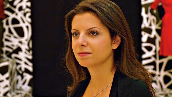 Margarita Simonyan, the editor-in-chief of RT and Rossiya Segodnya - Sputnik International