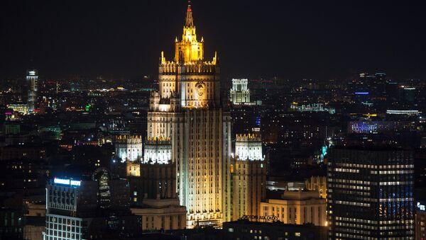 The Foreign Ministry's building - Sputnik International
