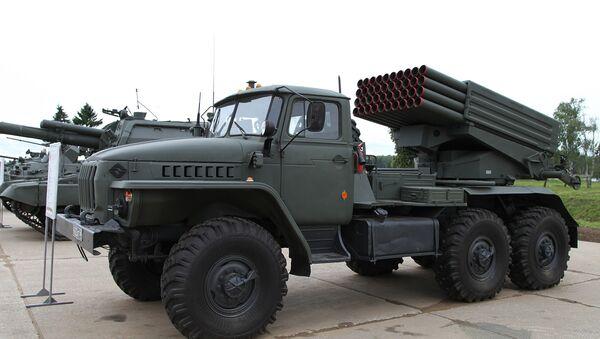 The Tornado-G multiple launch rocket  system - Sputnik International
