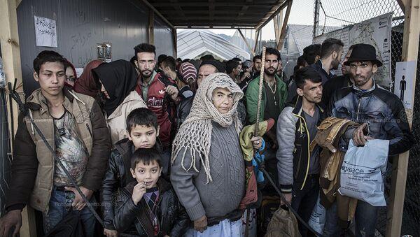 Refugees in Greece - Sputnik International
