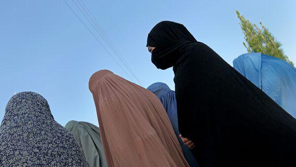 Women in burka - Sputnik International