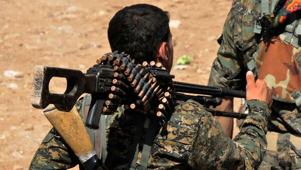 Kurdish fighter - Sputnik International