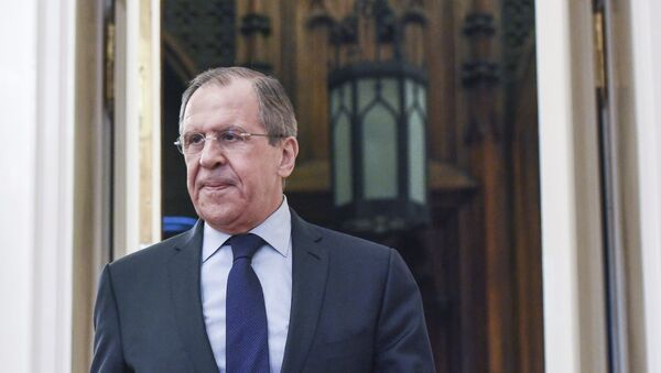 Meeting of Russian Foreign Minister Sergei Lavrov and French Foreign Minister Jean-Marc Ayrault - Sputnik International