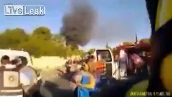 Firefighter Helmet cam footage - Sputnik International